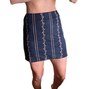 Honey Belle Embroidered Skirt